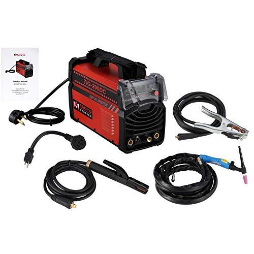 200 Amp Welder Dual Voltage IGBT Welding