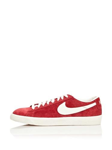 Nike Sneaker Blazer Low Prm Vintage Suede rot/weiß EU 44.5