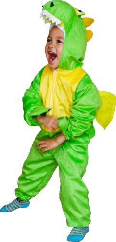 Fun Play Dinosaure Dragon déguisement Enfant -Grenouillere Enfant Animal pour garçons et Filles - Costumes pour Les 3 - 5 Ans (110 cm) Taille M