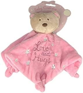 Naninha Bebê Infantil Ursinho Paninho Cheirinho Dormir Rosa