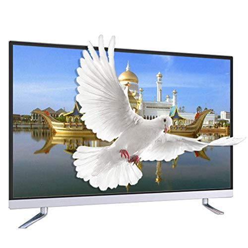 ZZYH Televisor LED Inteligente 2K HD Ready 43', Sonido Estéreo, Interfaz Rica, Cuerpo Ultrafino, Reduce Ruído, Pantalla Amplio Ángulo Visión, Soporta Proyección Inalámbrica