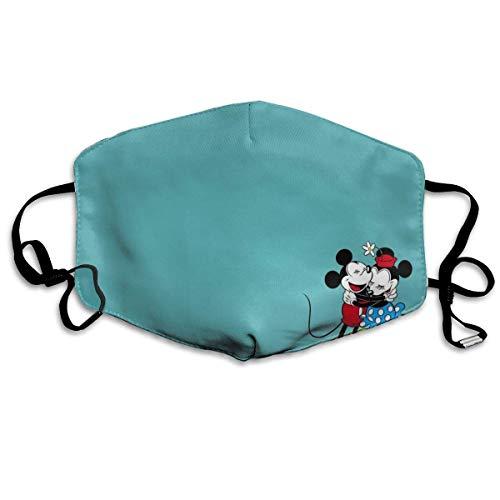Männer Frauen Verstellbarer Mundschutz Mundschutz Anti-Staub Waschbar Wiederverwendbarer Mundschutz für Kinder Jugendliche Erwachsene Anti Pollution-Mickey und Minnie Mouse