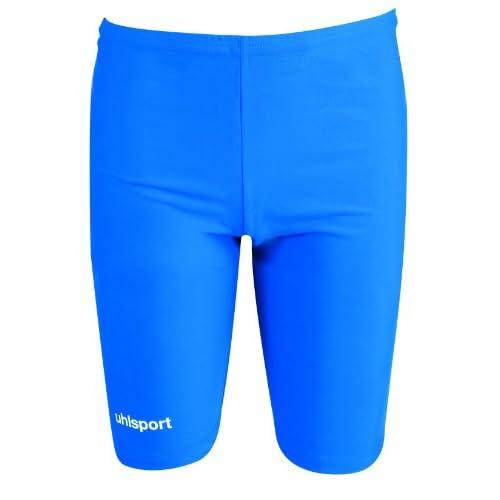 Uhlsport Pantaloncini aderenti da uomo, Blu, M