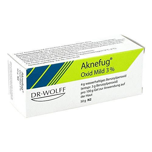 AKNEFUG oxid mild 3% Gel 50 g Gel