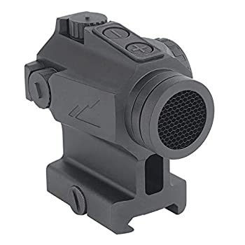 NorthTac Ronin P11 1x20mm 2 MOA Red Dot Sight Programmable Shake Awake Up to 50,000 Hour Battery Life Tactical Solid Body Red Dot Scope w Anti-Reflection Cover