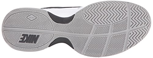 Nike Court Lite, Chaussures de Tennis Homme, Blanc (White/Black/Medium Grey 100), 45 1/3 EU