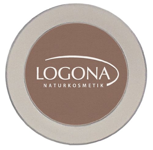 LOGONA Naturkosmetik Eyeshadow Mono No. 02 Chocolate, Natural Make-up, Lidschatten, mit...