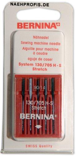BERNINA Jersey Stretch Nadeln für Nähmaschine, Stärke 90/14