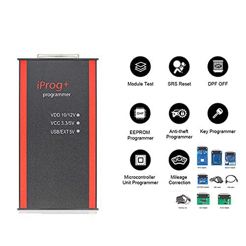 Odómetro Completo IPROG Pro 2019 V85 ECU Programador Key IPROG + IMMO OBD2 Herramienta de corrección Milaje de odómetro Restablecer Airbag IPROG V82 PK Carprog