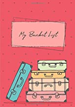 My Bucket List: A Guided Prompt Journal For Keeping Track Of Your Adventures   100 Entries   Pink (Personal Edition)