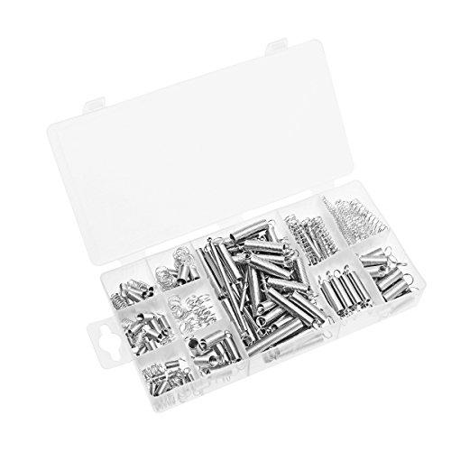 OUNONA 200 Stück Feder Sortiment Verzinkte Feder Set