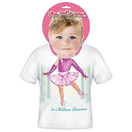 T-shirt Enfants Plus tard je serais Danseuse 4 ans
