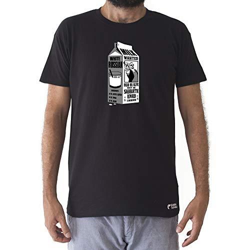 GAMBA TARONJA White Russian - Camiseta - EL Gran Lebowski - Big Lebowski