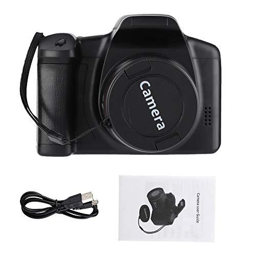 Delaman Videocamera, Portatile 2.4 Pollici Grande Schermo colorato Videocamera Digitale 720P 16MP con Zoom 16X Videocamera alimentata a Batteria