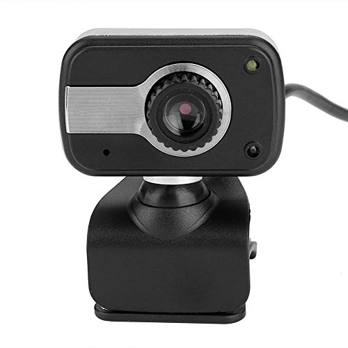 Web Camera,USB with MIC 12MP HD Web Camera Cam 360° for LCD Screen Laptop for/MSN/ICQ Night Vision Flexible Rotatable Clip, for Laptops, Desktop and Gaming