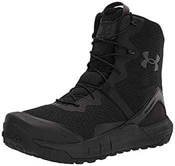 Under Armour Men s Micro G Valsetz Military and Tactical Boot Black  001 /Black 12 M US