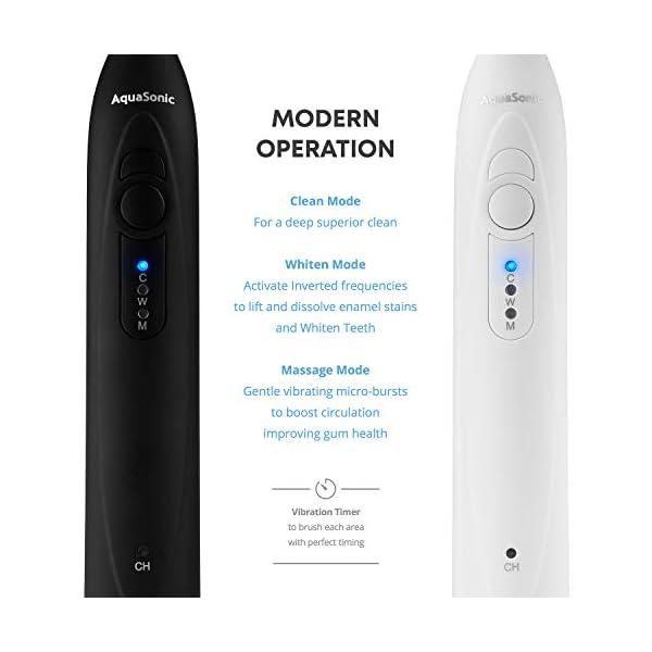 AquaSonic Dual Handle Ultra Whitening Electric Toothbrush