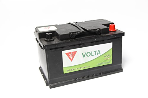 Bateria de coche 80 Ah start stop AGM +Dcha