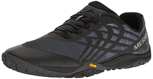 Merrell Men's Trail Glove 4 Runner, Black, 9.5 M US