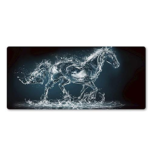 Super Domineering Horse Pad Mouse Pad Cool Personalidad Natural Goma Juego Pad Lavable Juego Accesorio Pad (Size : 900x300x2mm)