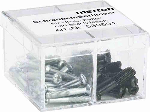 Merten 539591 Schraubensortiment in Kunststoffbox