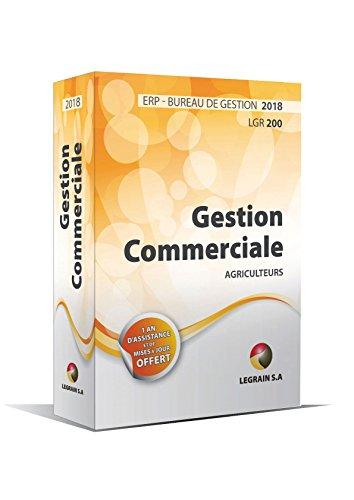 Version 2018 - Logiciel de Gestion Commerciale - ERP pour les Exploitations Agricoles - Bureau de Gestion LGR200 - Un an d'assistance + Mise à jour pendant un an