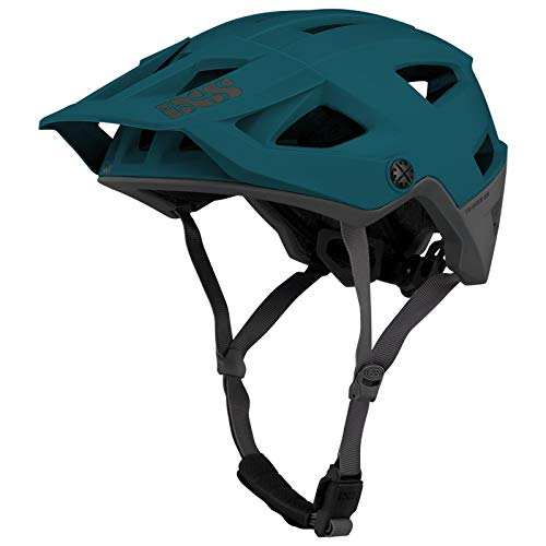 IXS Trigger Am Casco montaña, Bicicleta, Unisex Adulto, Everglade Green, Medium