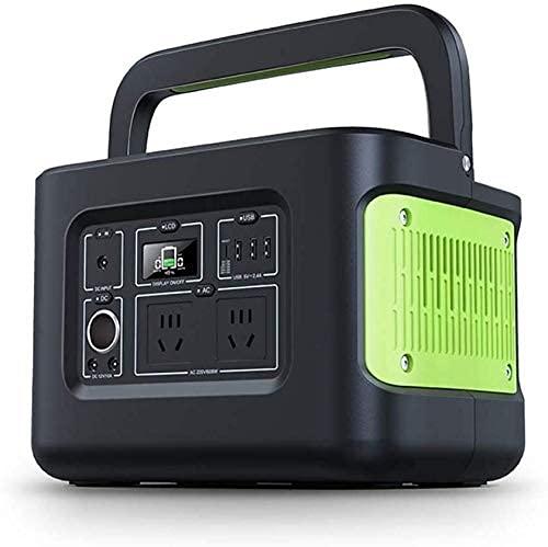 LITINGT Generador portátil Central eléctrica portátil Generador portátil 622Wh 172800mAh Central eléctrica Fuente de alimentación de Emergencia con inversor DC/AC, Salida inalámbrica, Cargado por