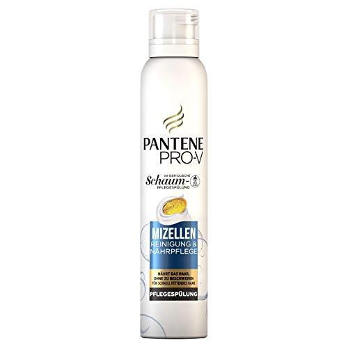 Pantene Pro-V Mizellen Reinigung undNährpflege Schaum-Pflegespülung, 6er Pack (6 x 180 ml)