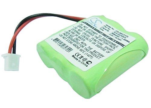 TECHTEK batería sustituye 30AAM3BMX, para 33H, para BC101536, para CP30NM Compatible con [Telecom] AMARYS 2200SF, para [SAGEM] DECT C31, DECT C32, Mistral 10-200, Mistral 20-200, Mistral 20-220, Mist