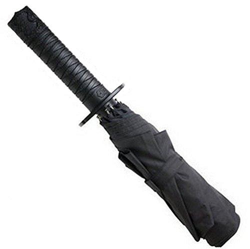 Blancho Parapluie pliable avec poignée en forme d'épée de samouraï