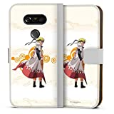 DeinDesign Étui Compatible avec LG G5 Étui Folio Étui magnétique Naruto Shippuden Hokage Produit...