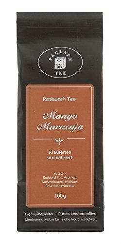 Paulsen Rotbuschtee Mango-Maracuja 100g (34,90 Euro / kg)