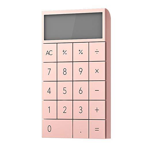 XBAO rekenmachine, draagbaar, textuur mat, slijtvast, draagbaar, rekenmachine, perfect voor thuis, school of kantoor