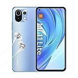 Xiaomi Mi 11 Lite 4G + Kopfhörer (16,63 cm (6,55') FHD+ Display, 128GB interner Speicher, 6GB RAM,...