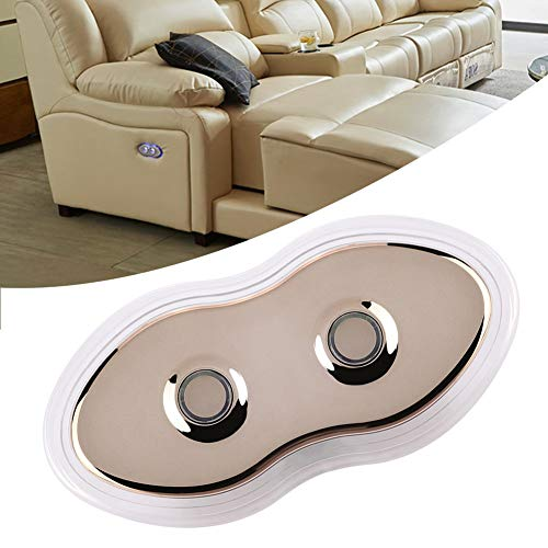 Uxsiya Fácil de operar resistente sofá interruptor controlador sofá accesorios durable controlador de sofá eléctrico para el hogar dormitorio cocina