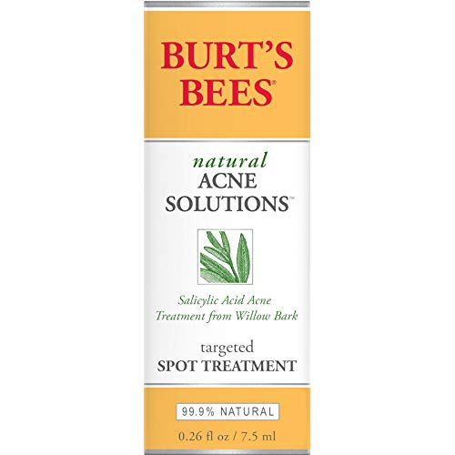 Burt's Bees Natural Acne Solutions Targeted Spot Treatment for Oily Skin,0.26 Ounces