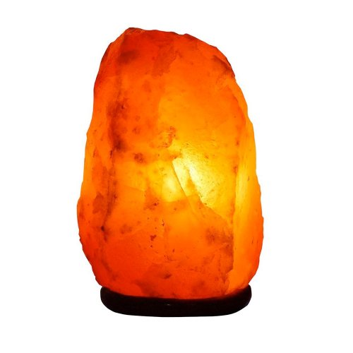Lamare Lampe de sel naturel de l Himalaya – 1 à 2 kg – Recommandé Feng Shui