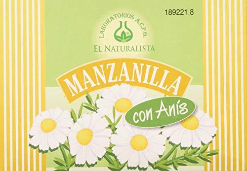 El Naturalista Manzanilla Con Anis Infusion 20Sbrs - 150 gr