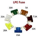 has 10 unidades scharnberger KFZ-fusible plano 62120 plana fusibles
