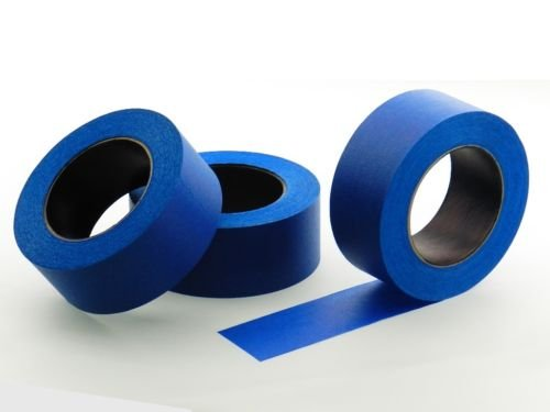 """3pk 2"""" x 60 yd Blue Painters Tape PROFESSIONAL Grade Masking Edge Trim Easy Removal (48MM 1.88 in)"""