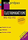 Electromagnétisme MPSI-PCSI-PTSI