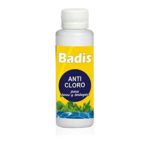 Badis Anticloro para Peces y Tortugas 130ml