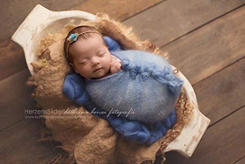 Wrap Mohair Neugeborene Mohairdecke, Foto Accessoire