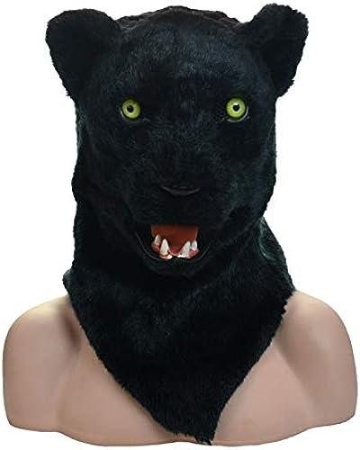 vendiendo bien en todo el mundo Fiesta de Las máscaras XIANGBAO Máscara de Adultos de de de Boca móvil Máscara estándar de Pantera (Color   negro, Talla   25  25)  envío gratis