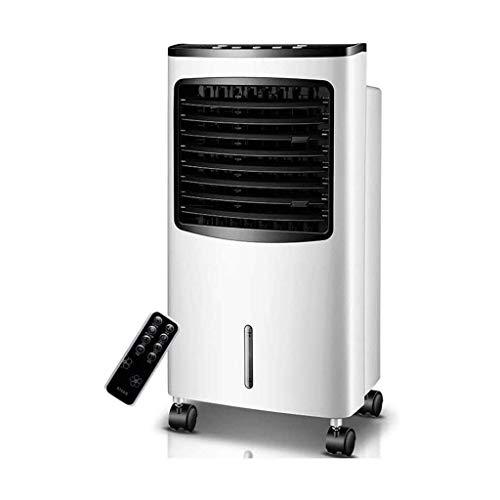 Verdunstungsluftkühler, Luftbefeuchtung mit negativer Ionenreinigung, 7,5-Stunden-Timer, 8 l großer Wassertank, 3-Fach einstellbar, Verwendung in Räumen, Büros, B.