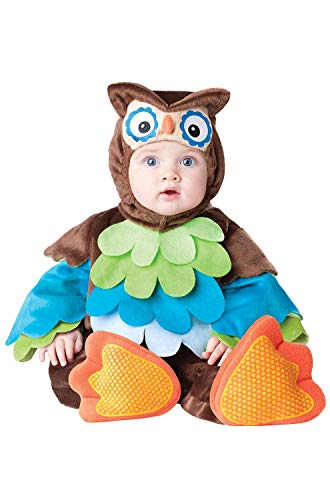 Incharacter Costumes IC6033-L Infant Toddler What A Hoot Owl Costume LARGE