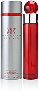 Perry Ellis 360 Red for Men, 3.4 fl oz EDT