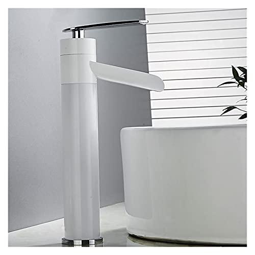 Accesorios de baño Grifos y grifos. Cuarto de baño fregadero grifo cuarto de baño fregadero grifo antiguo latón cocina fregadero grifo caliente y frío agua cubierta monte cascada grúa fregadero grifo