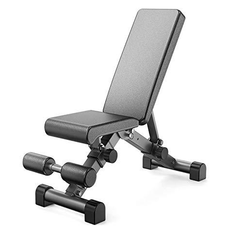Gewichtheben Bett Gewichtheberbett Verstellbares multifunktionale Bank,Bizepstraining Rückentrainer für Hyperextensions Bauchmuskeltraining und das Gewichtheben